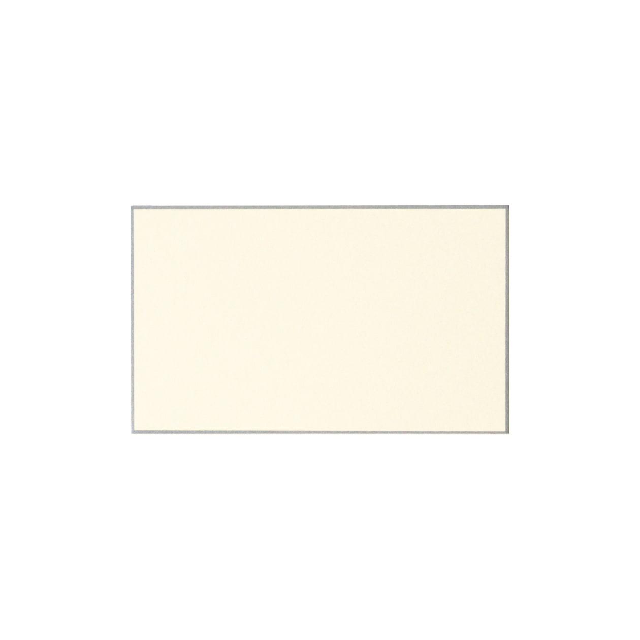 No.57ボーダード ネームカード シルバー 232.8g