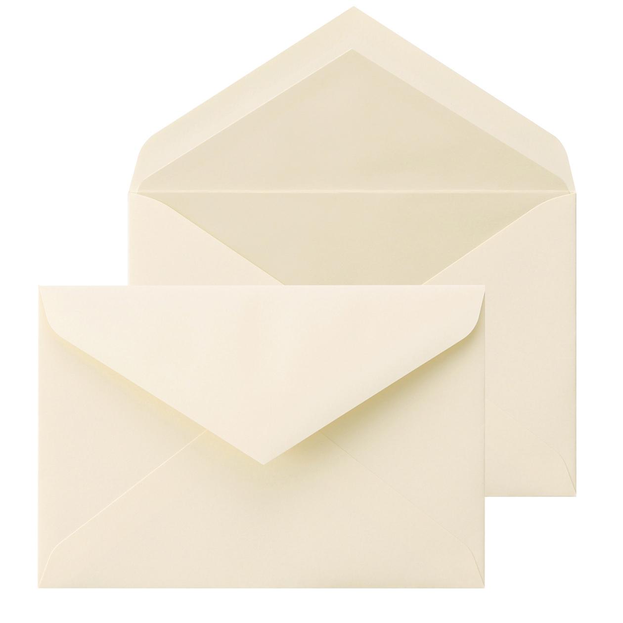 洋1ダイア二重封筒 コットン100% ナチュラル パール 116.3g