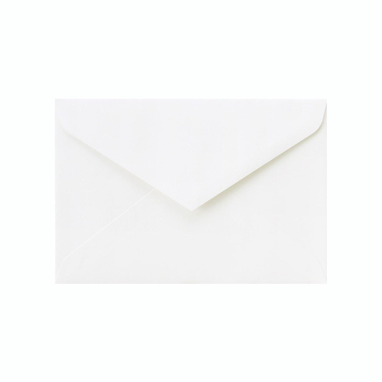洋1ダイア封筒 コットン スノーホワイト 116.3g