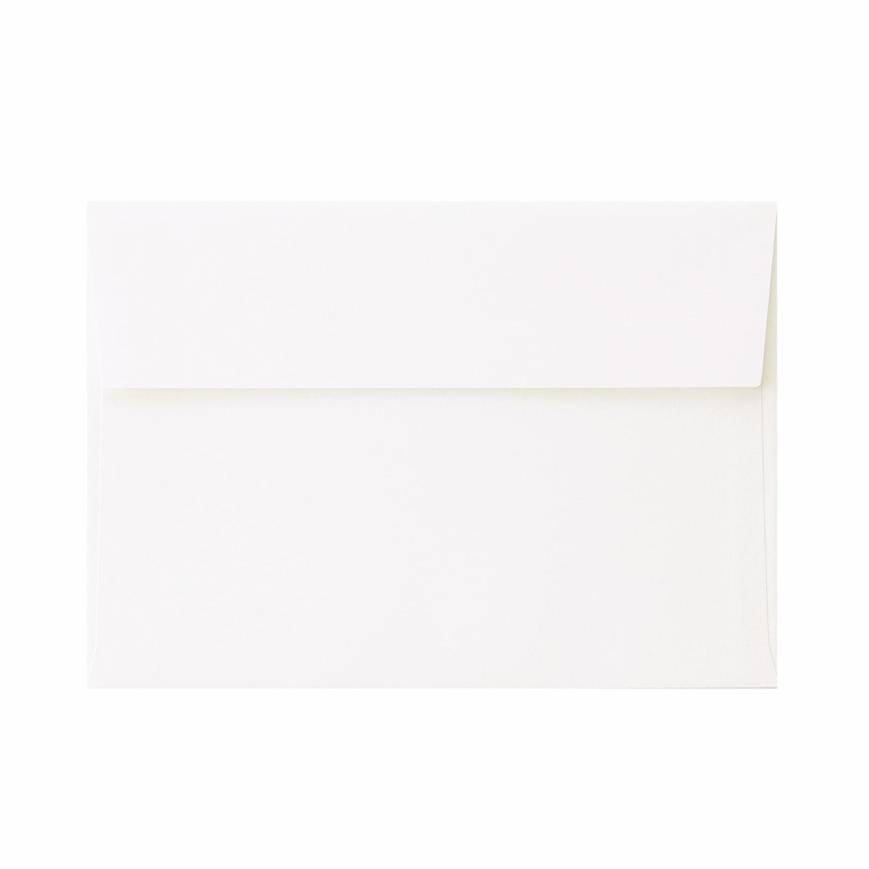 角6カマス封筒 コットン スノーホワイト 116.3g