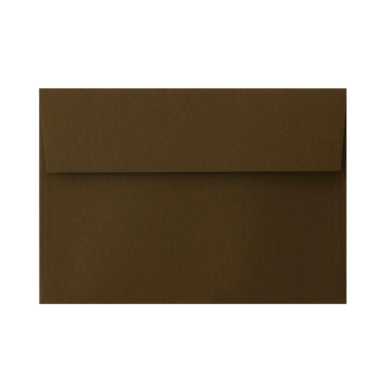角6カマス封筒 コットン チョコレート 116.3g