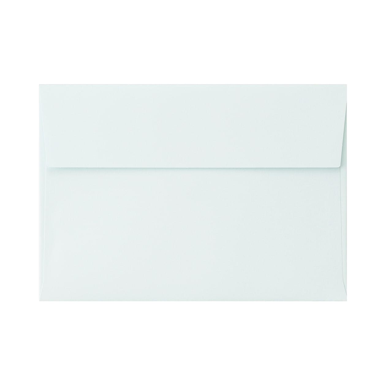 角6カマス封筒 コットン ブルー 116.3g