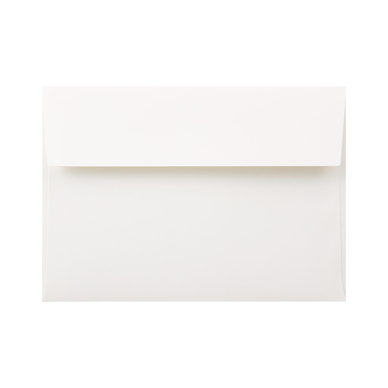 角6カマス封筒 コットン スノーホワイト 139.5g
