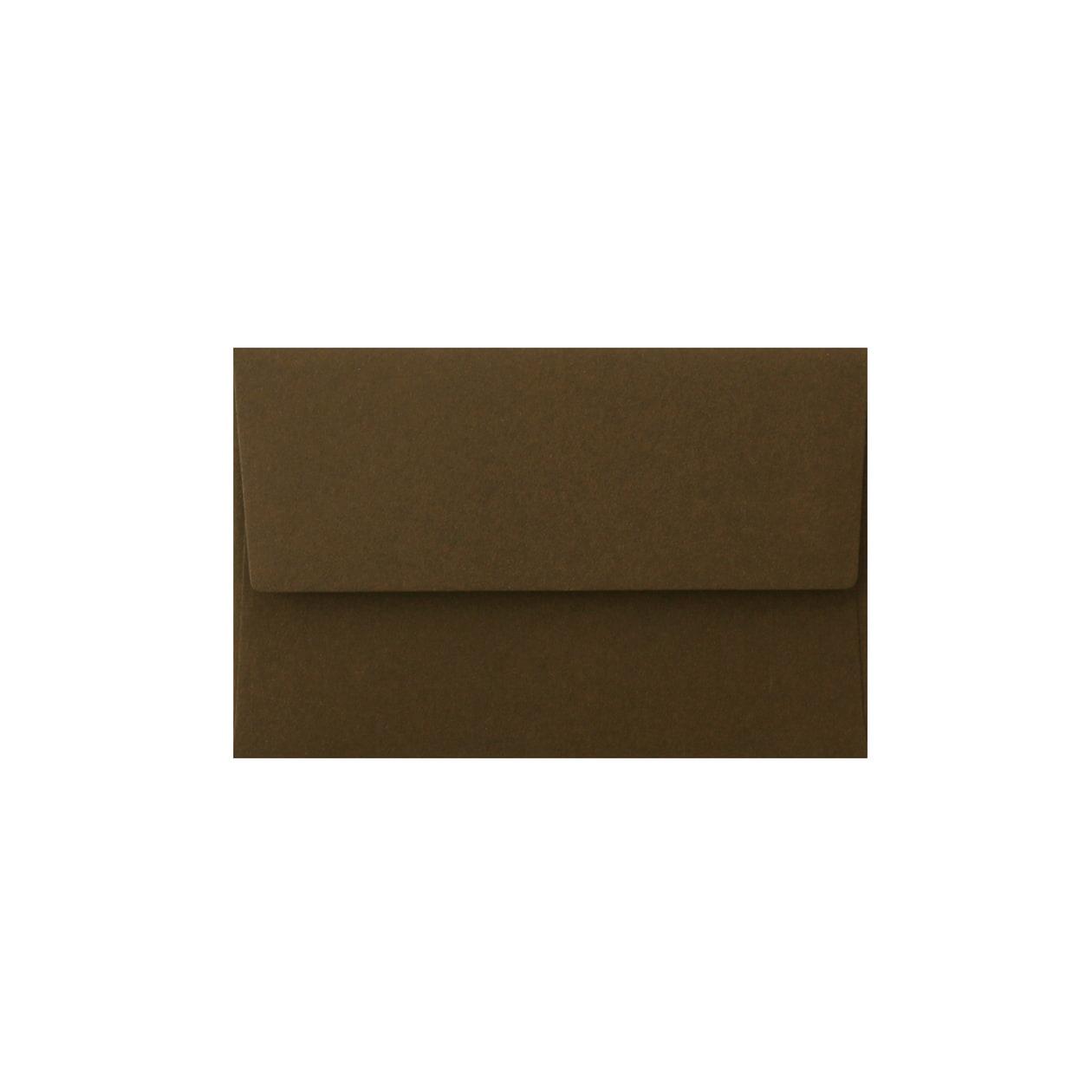 NEカマス封筒 コットン チョコレート 116.3g