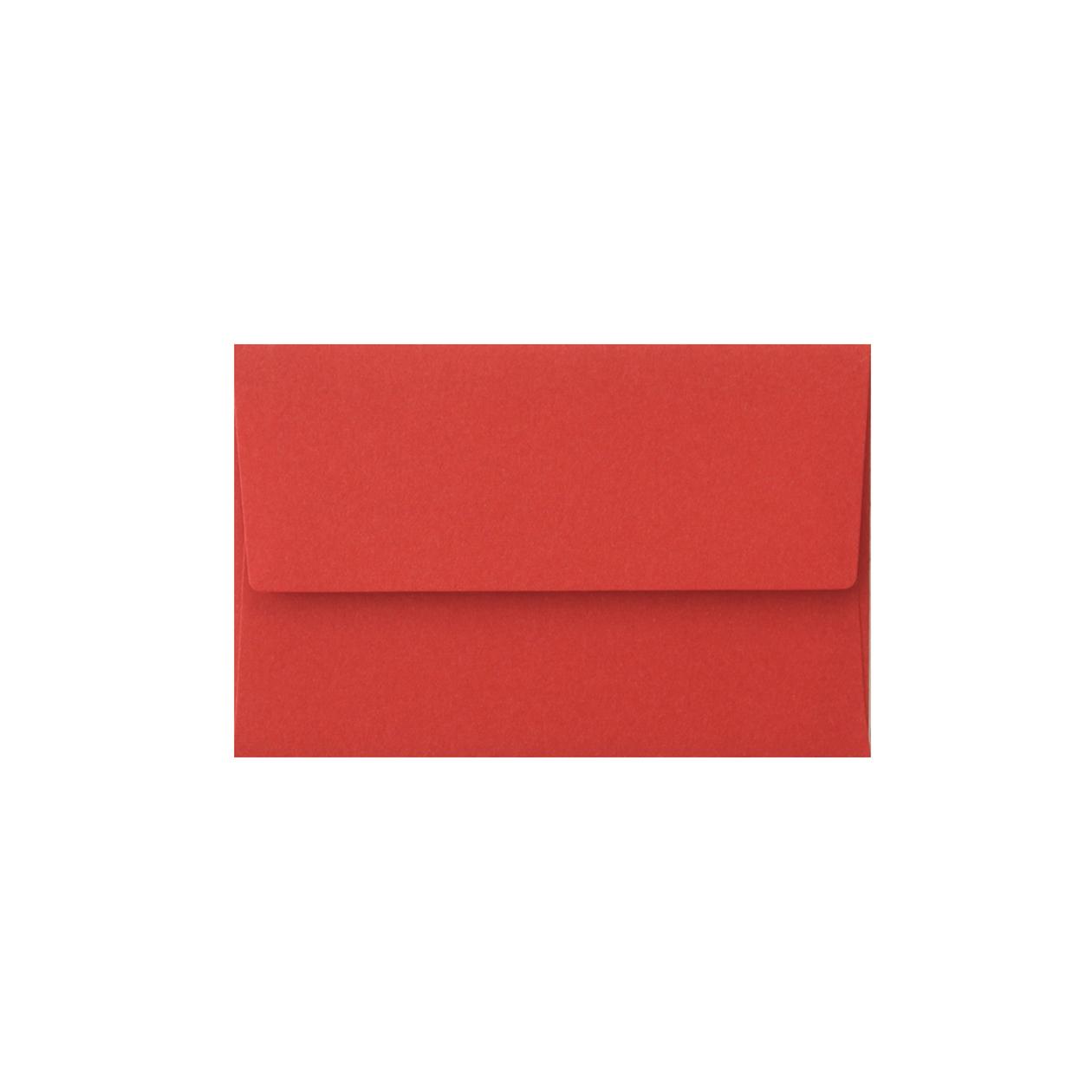 NEカマス封筒 コットン レッド 116.3g