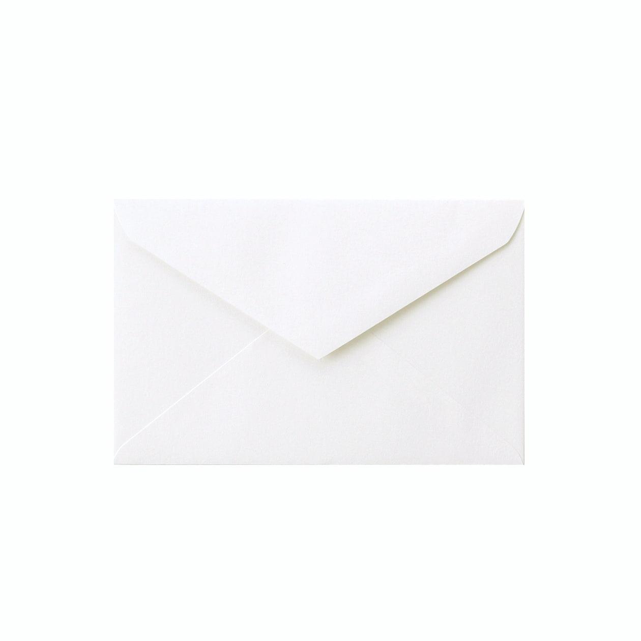 REダイア封筒 コットン スノーホワイト 116.3g