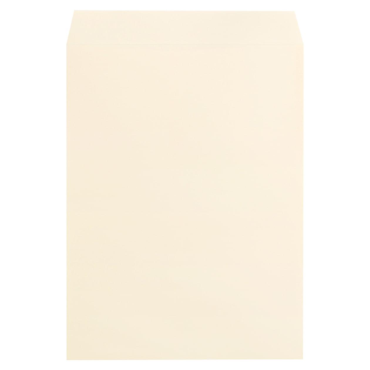 角0封筒 コットン ナチュラル 116.3g センター貼