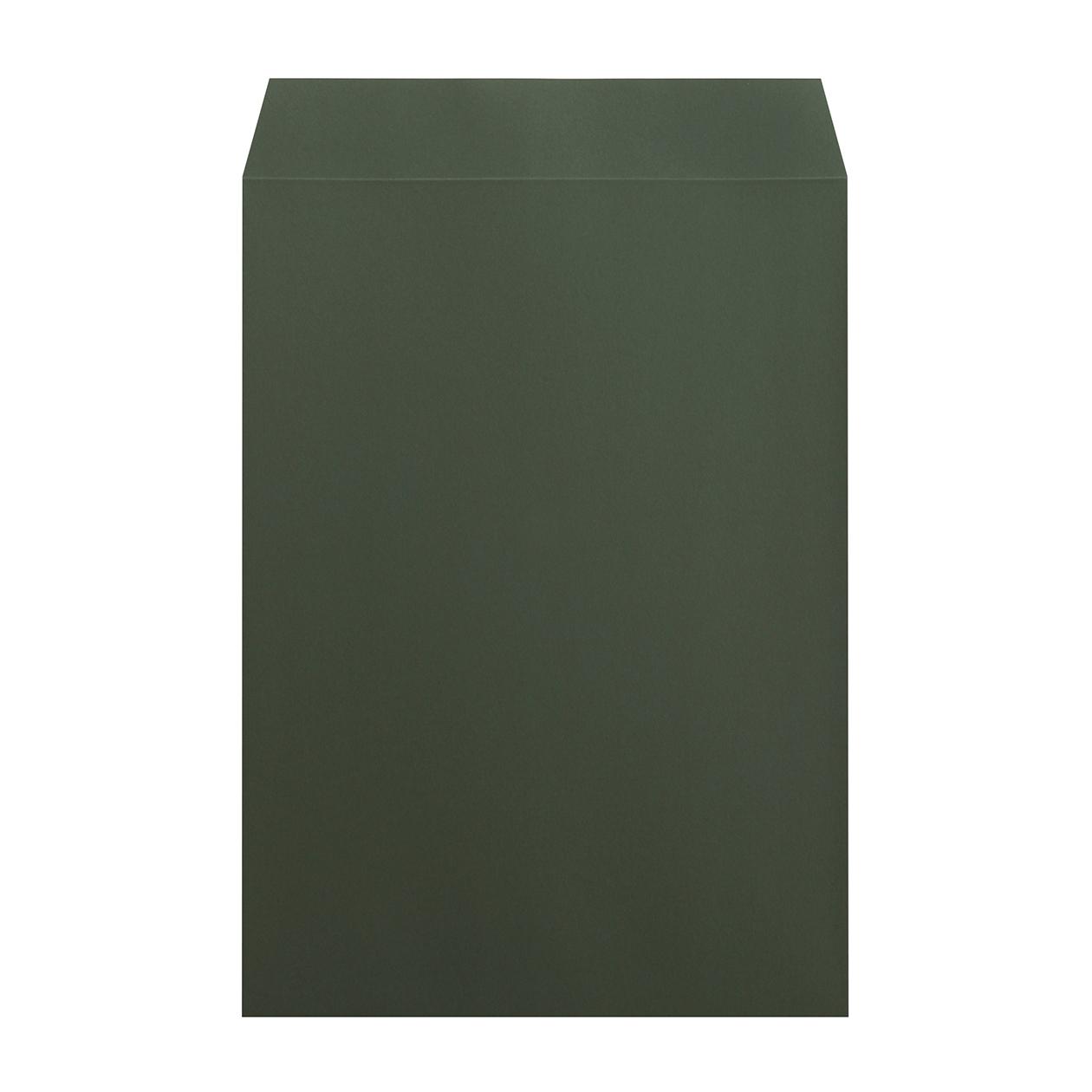 角2封筒 コットン ボトルグリーン 116.3g