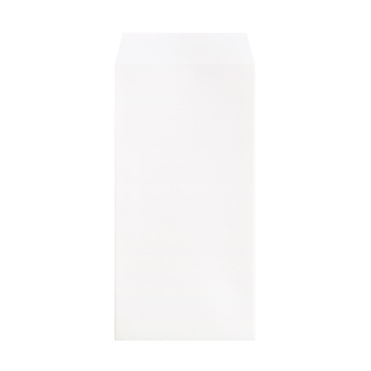 長3封筒 コットン スノーホワイト 116.3g