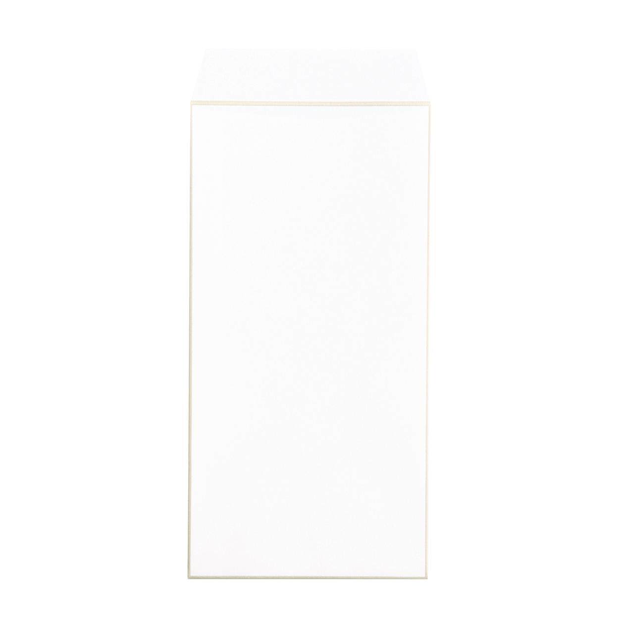 長3封筒 コットン スノーホワイトFサンド 116.3g