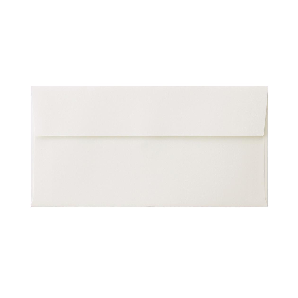 長3カマス封筒 コットン スノーホワイト 116.3g