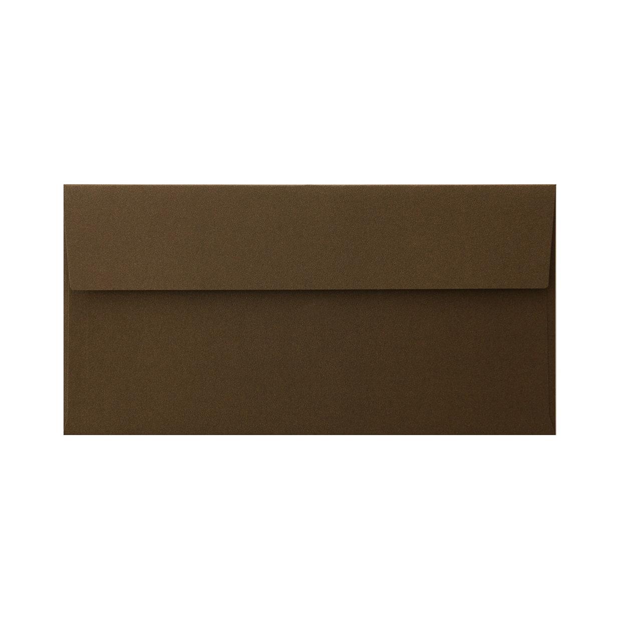 長3カマス封筒 コットン チョコレート 116.3g