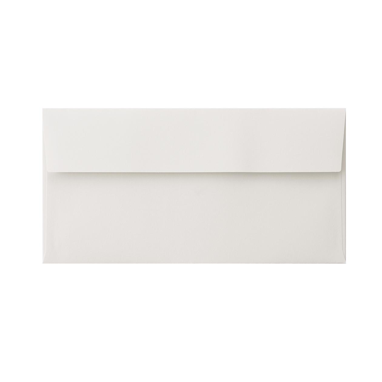 長3カマス封筒 コットン ライトグレイ 116.3g