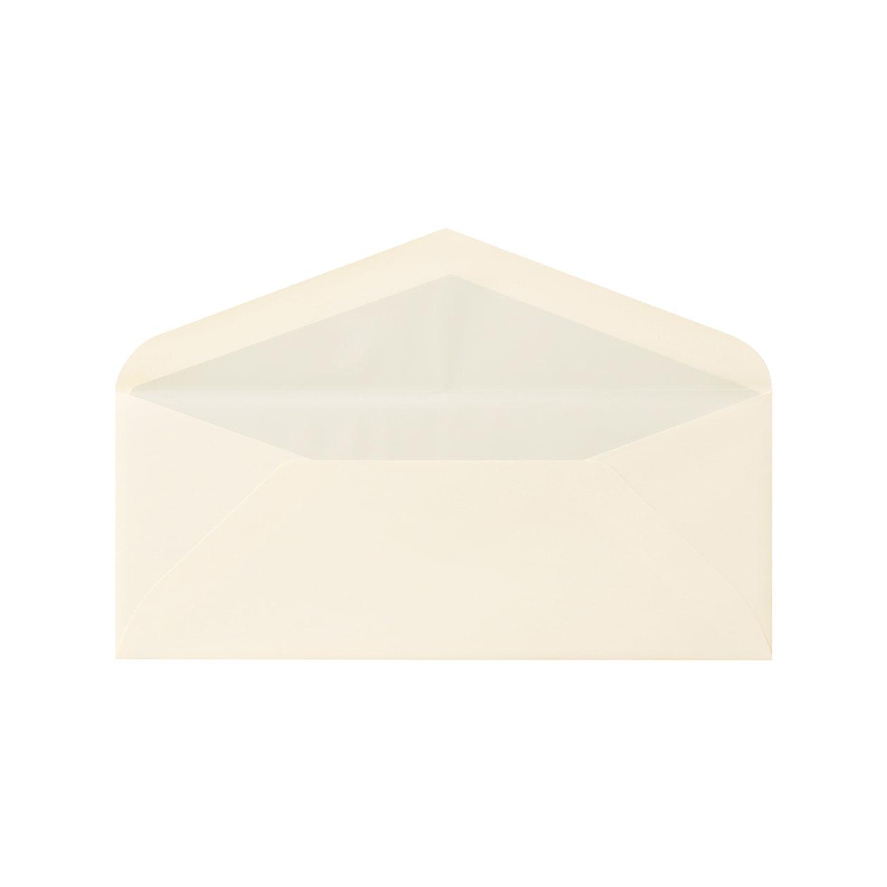 DLSダイア二重封筒 コットン ナチュラル 116.3g