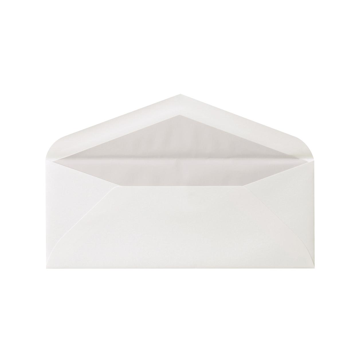 DLSダイア二重封筒 コットン スノーホワイト 116.3g