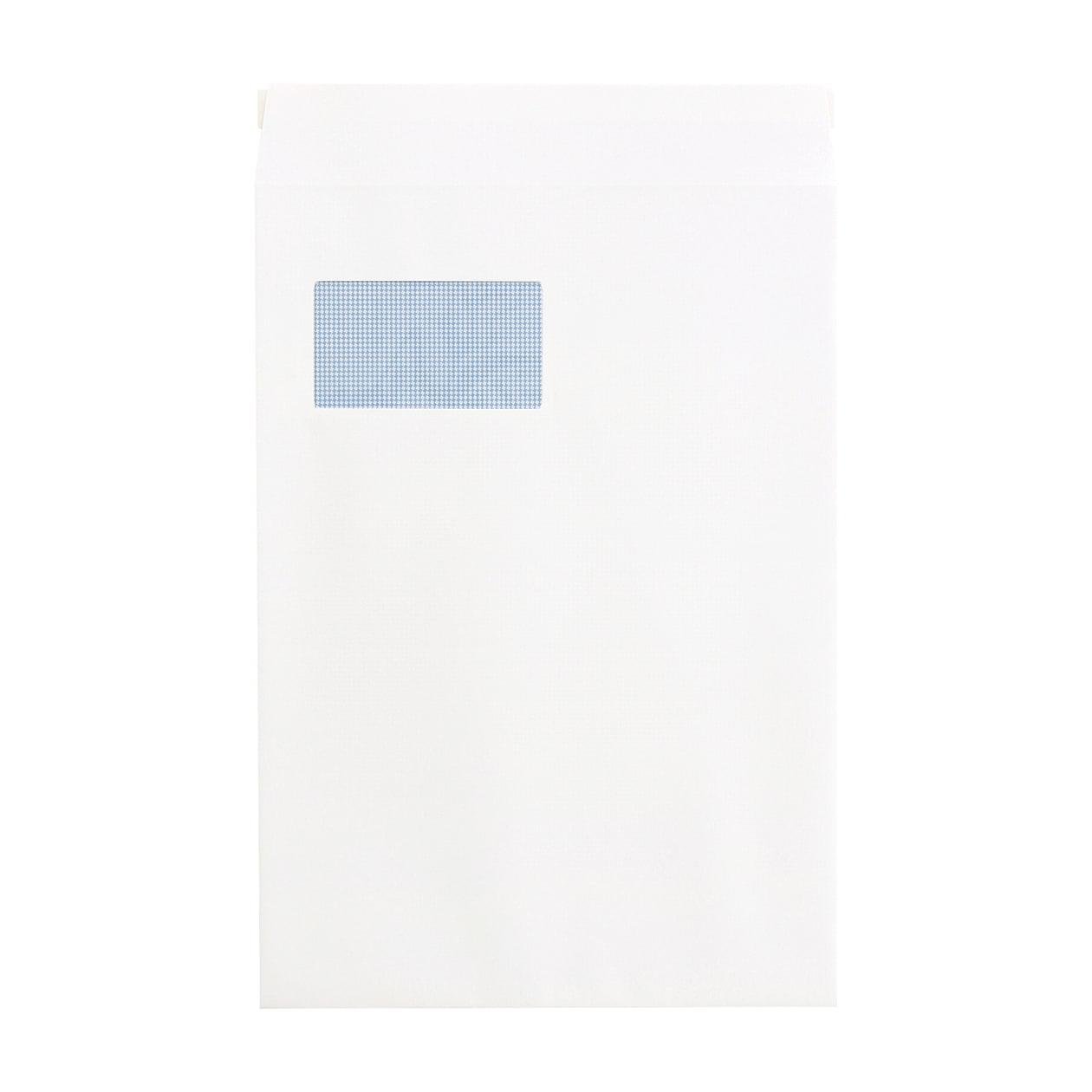角20窓封筒 コットン スノーホワイト 116.3g 地紋有 テープ有
