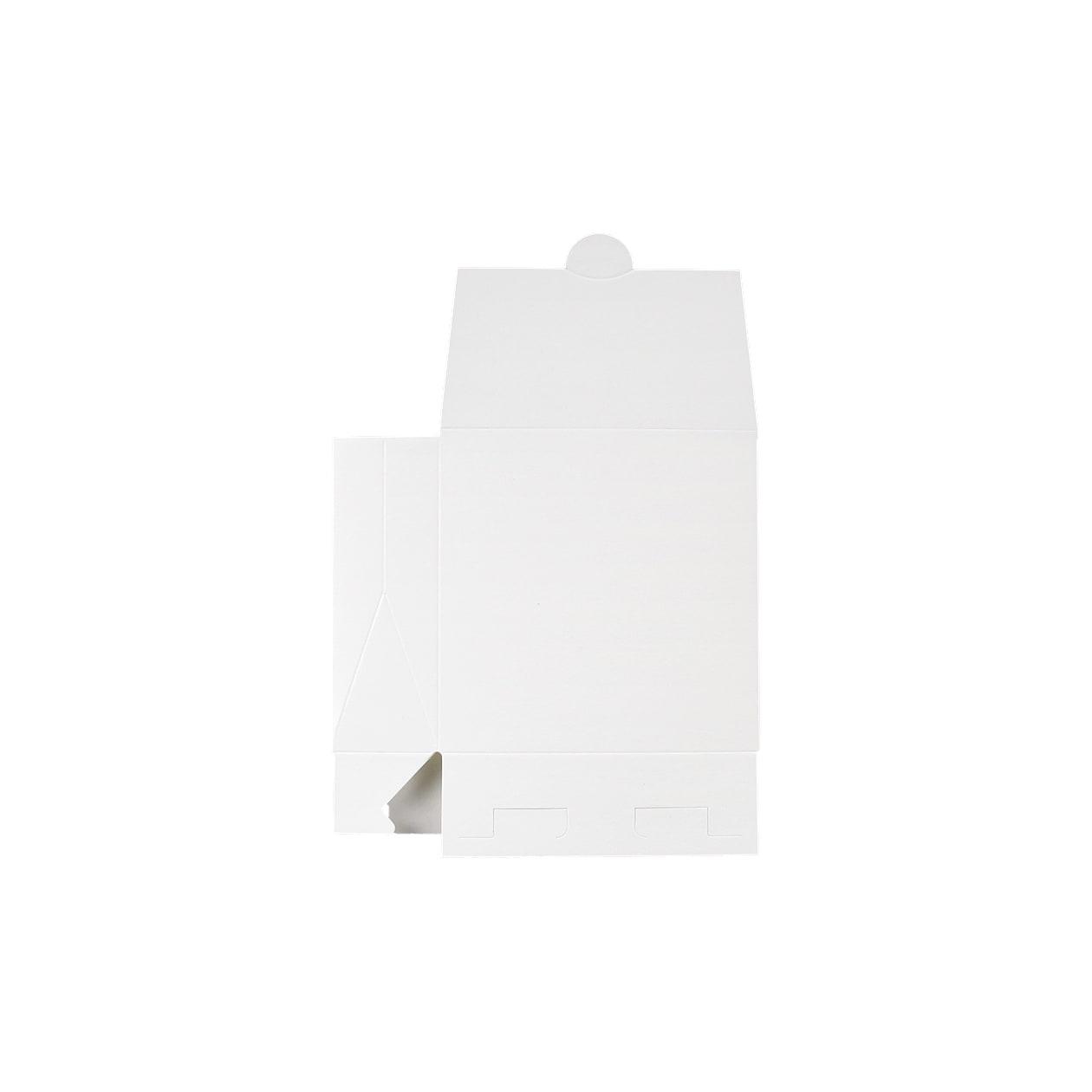 角底箱ロック式90×90×30 コットン スノーホワイト 232.8g