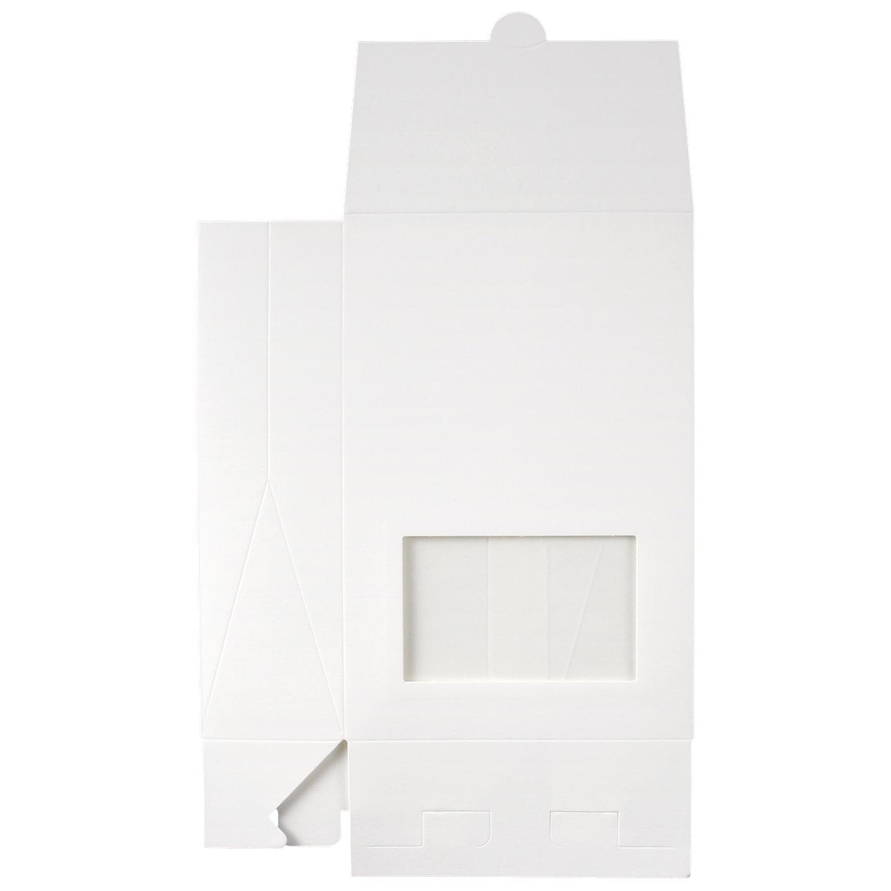 角底箱ロック式120×180×50 窓付 コットン スノーホワイト 232.8g