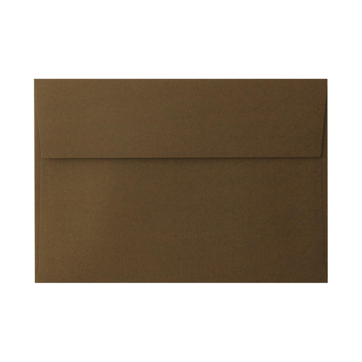 角6カマス封筒 コットンパール チョコレート 125.3g