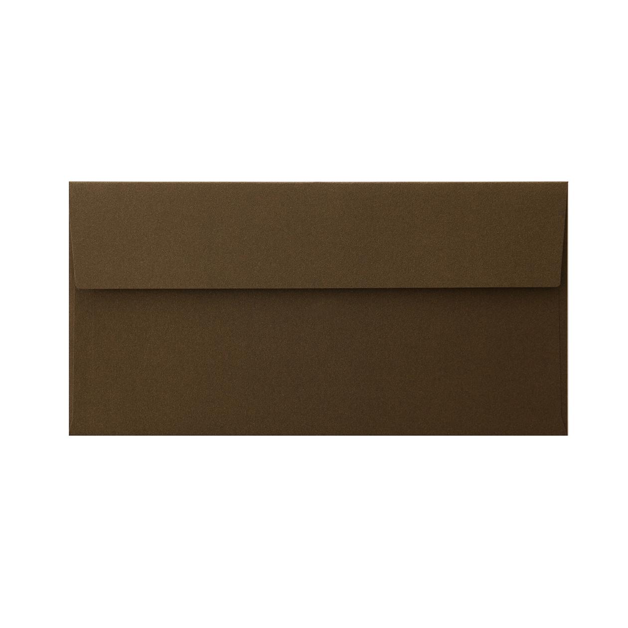長3カマス封筒 コットンパール チョコレート 125.3g