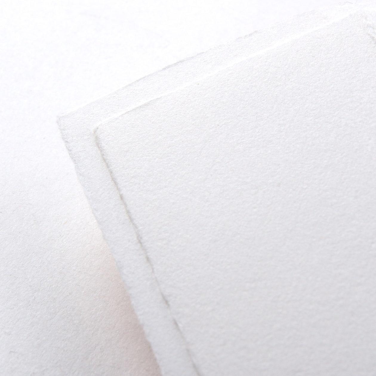 A32三つ折カバー コットン手すき スノーホワイト