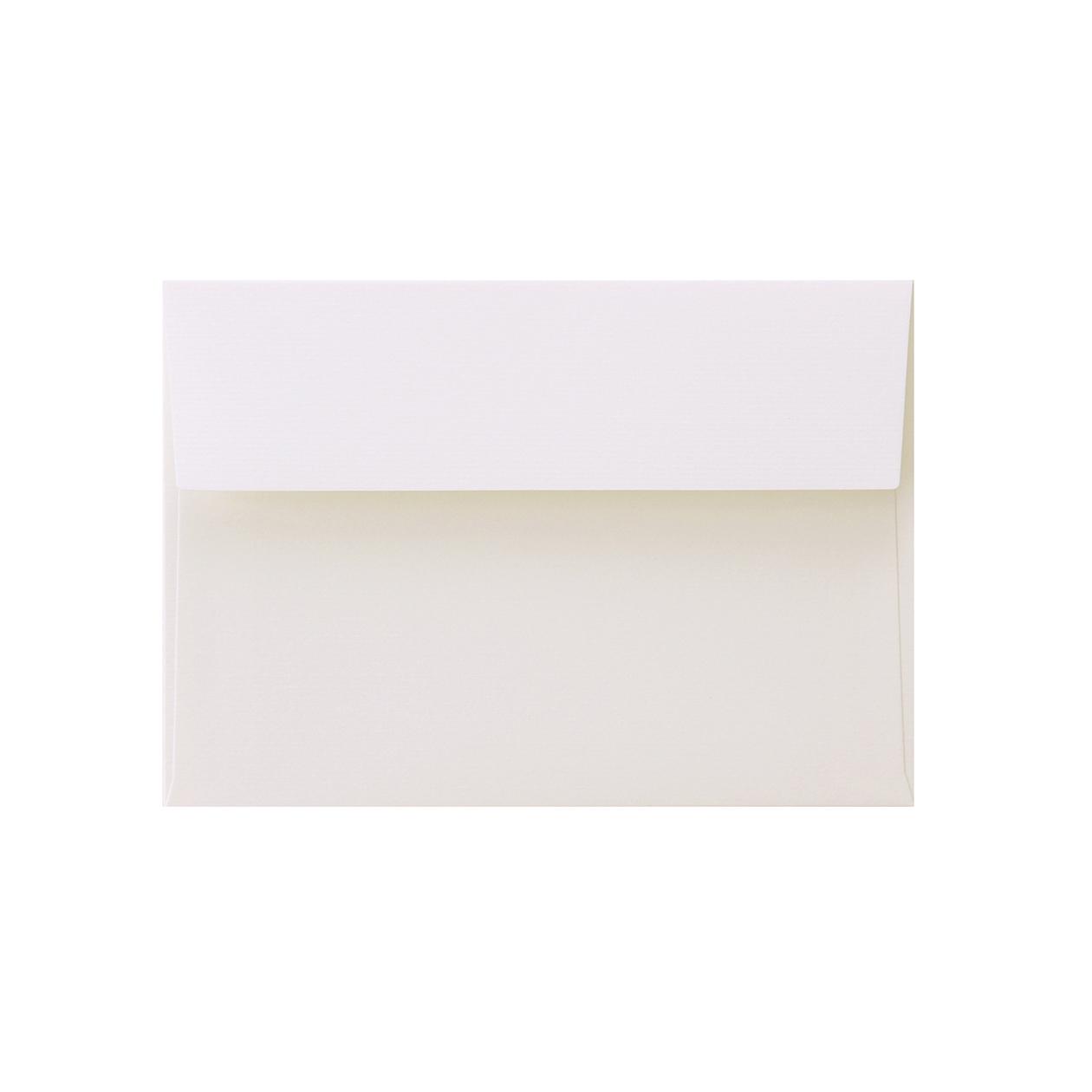 洋2カマス封筒 コットンレイド スノーホワイト 116.3g