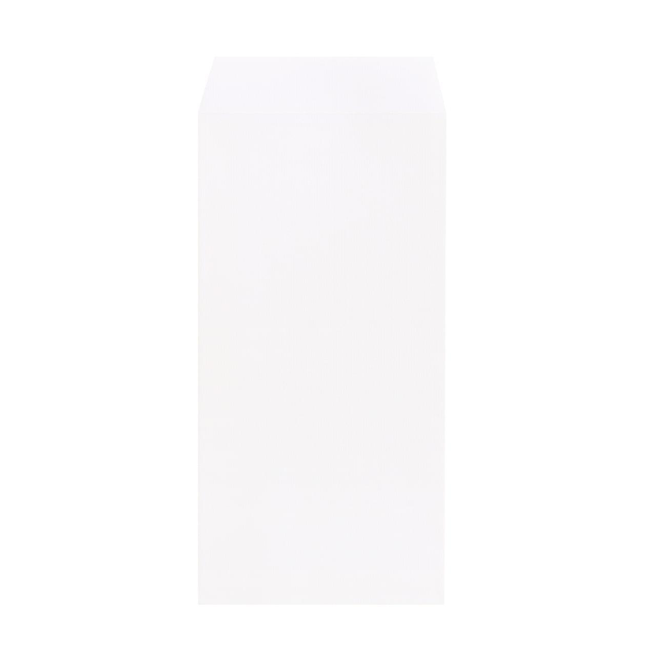 長3封筒 コットンレイド スノーホワイト 116.3g