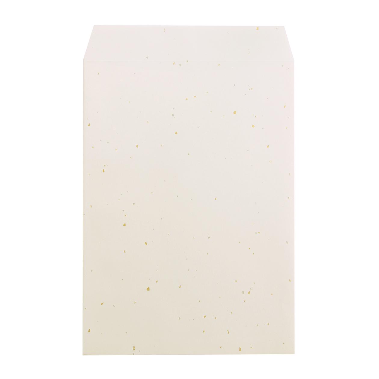 角2封筒 白うさぎ 金銀 98g