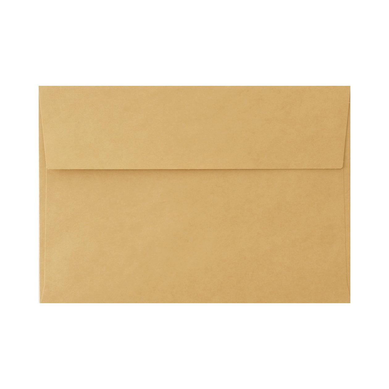 角6カマス封筒 クラシッククラフト ゴールド 107.5g
