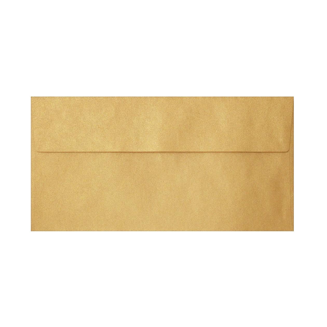 長3カマス封筒 クラシッククラフト ゴールド 107.5g