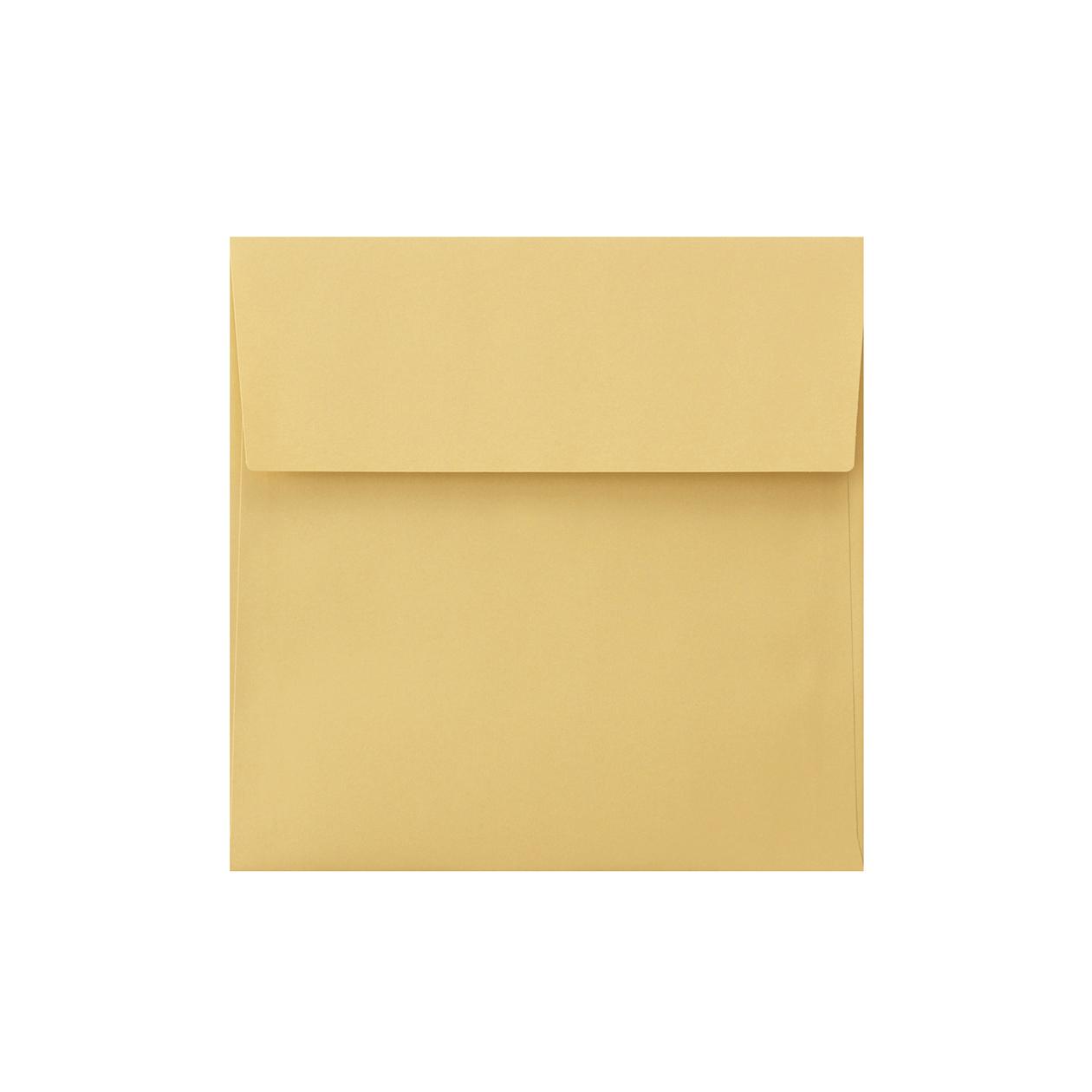 SE16カマス封筒 上質カラー ゴールド 97.4g
