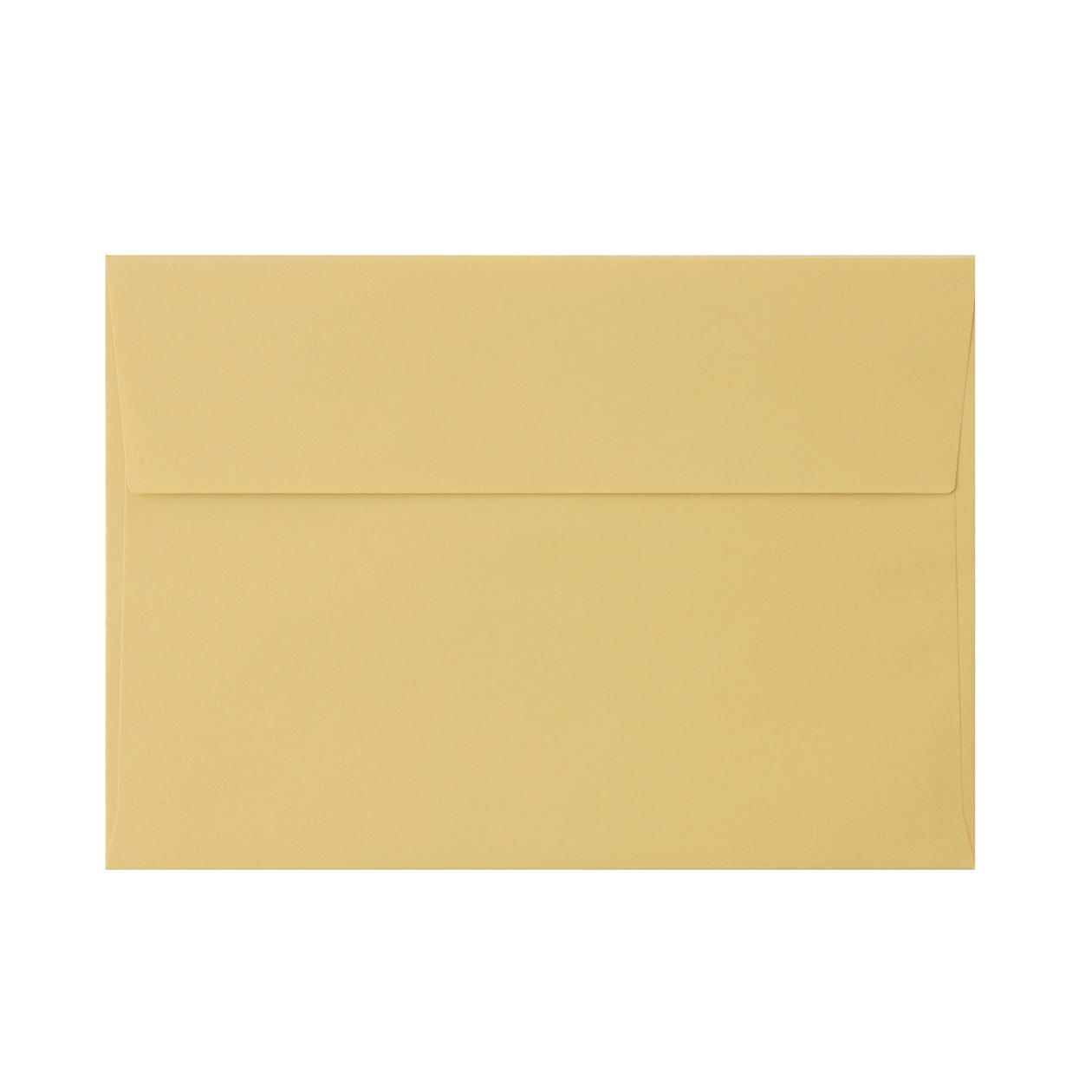 角6カマス封筒 上質カラー ゴールド 97.4g