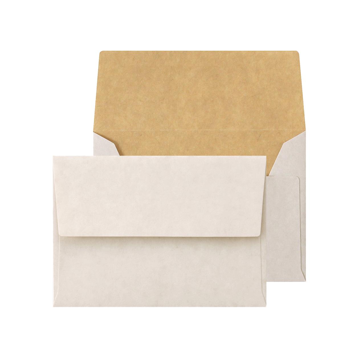 C7カマス封筒 ホワイトクラフト 100g