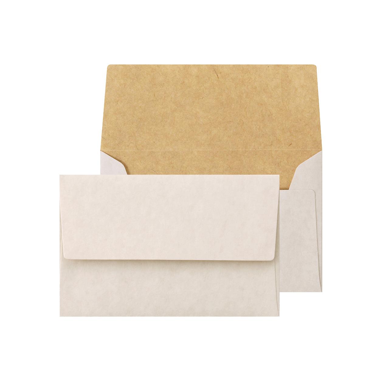 NEカマス封筒 ホワイトクラフト 100g