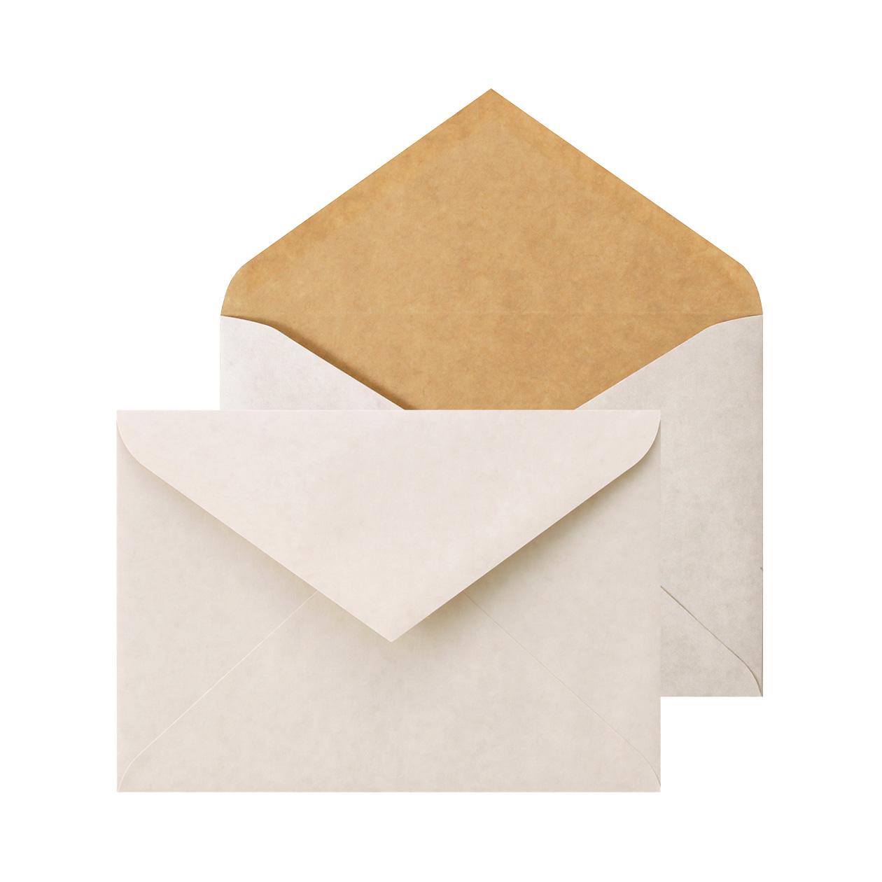 洋2ダイア封筒 ホワイトクラフト 100g