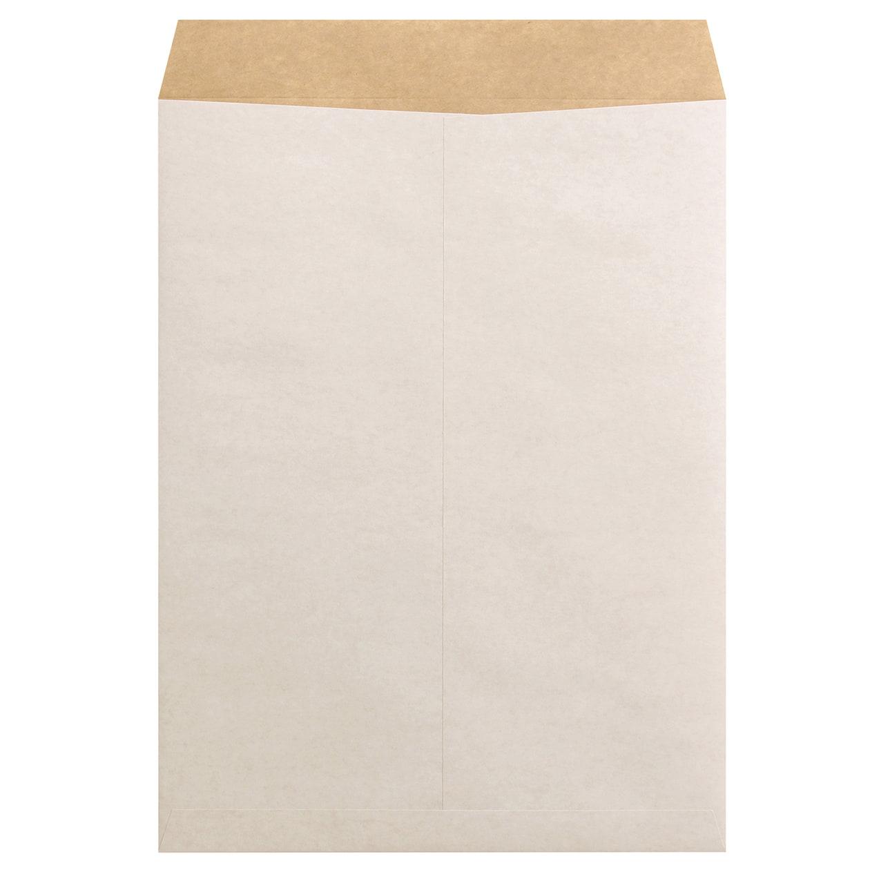 角0封筒 ホワイトクラフト 100g センター貼