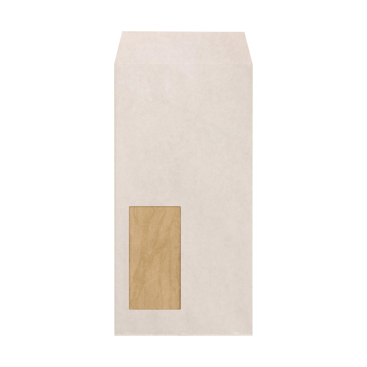 長3窓封筒 ホワイトクラフト 100g