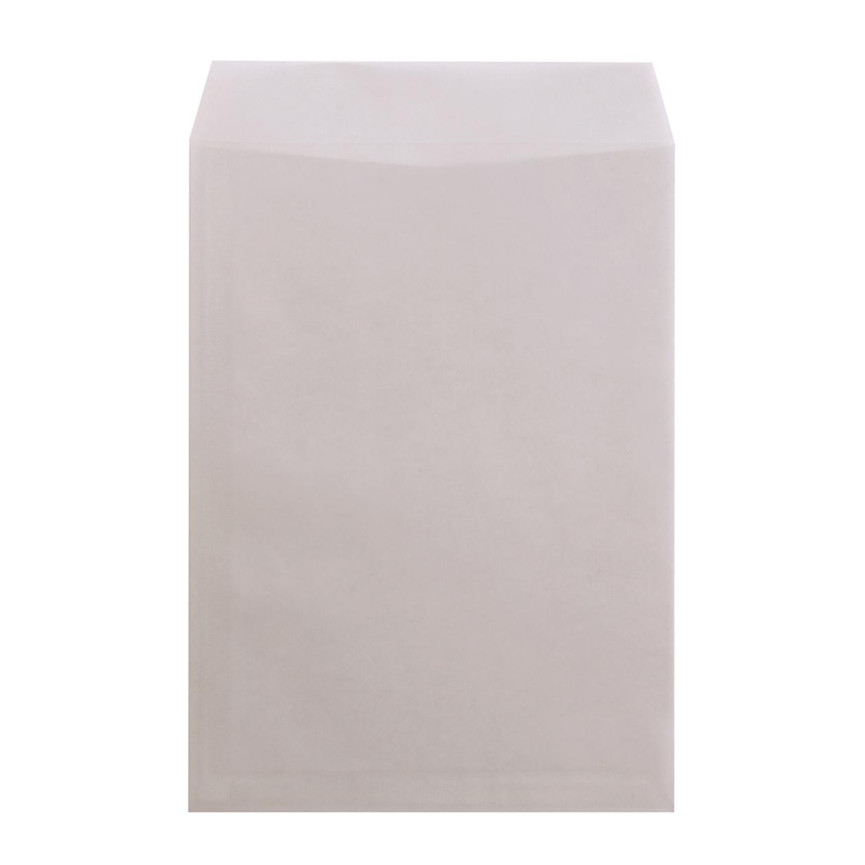 角2封筒 クラフトロウ引き スカイ