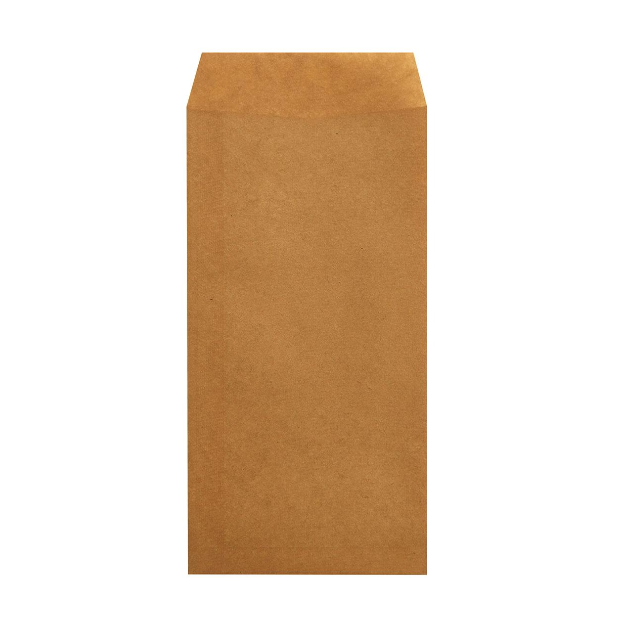 長3封筒 クラフトロウ引き 未晒