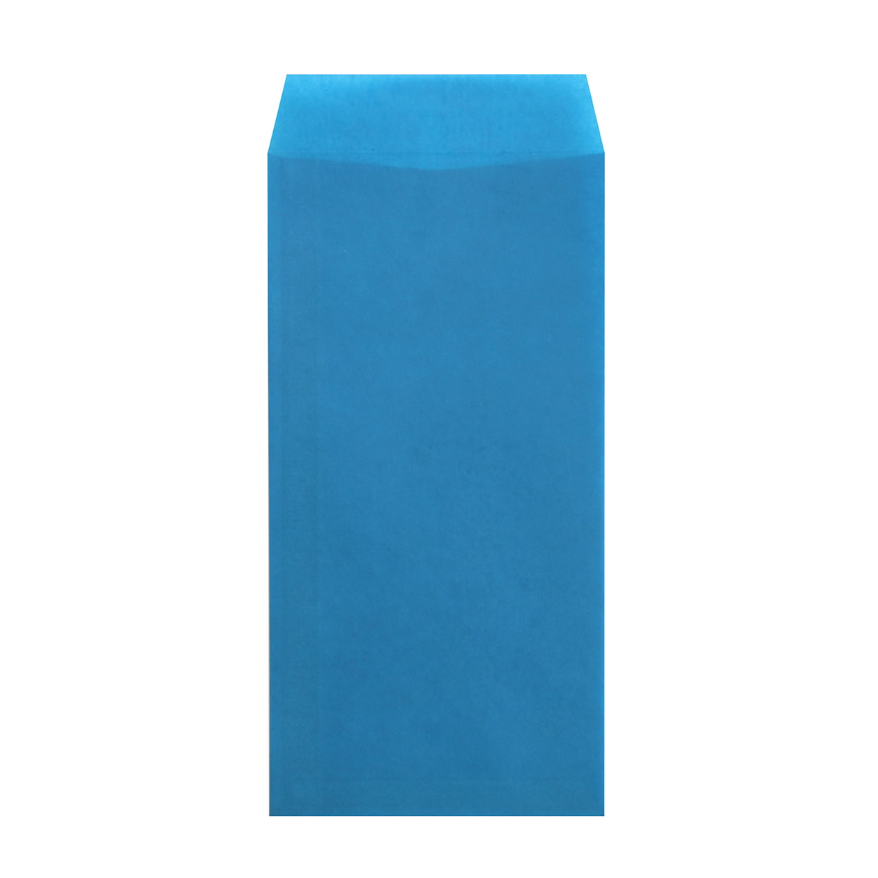 長3封筒 クラフトロウ引き ブルー