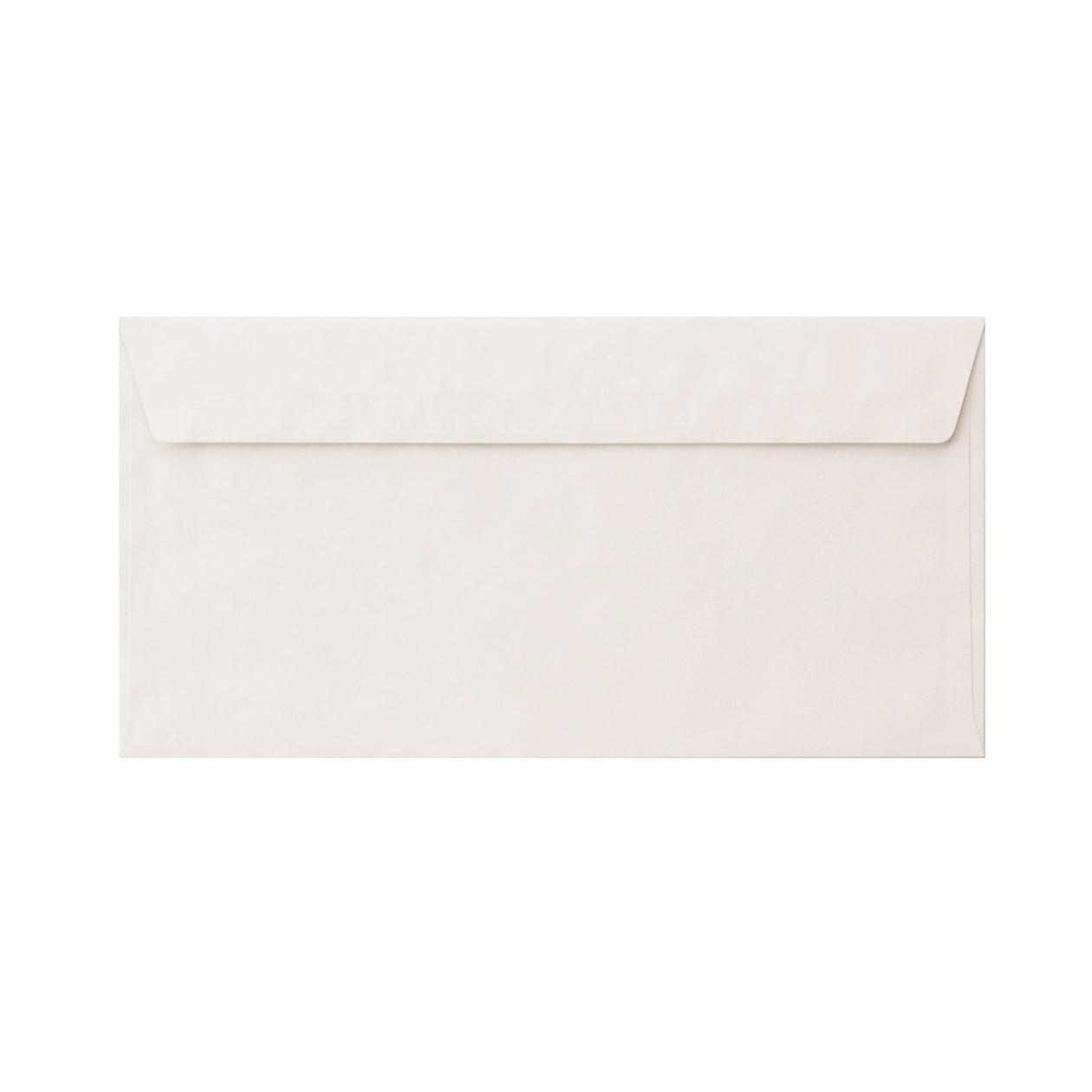 長3カマス34封筒 ハーフカラー99 ホワイト 81.4g