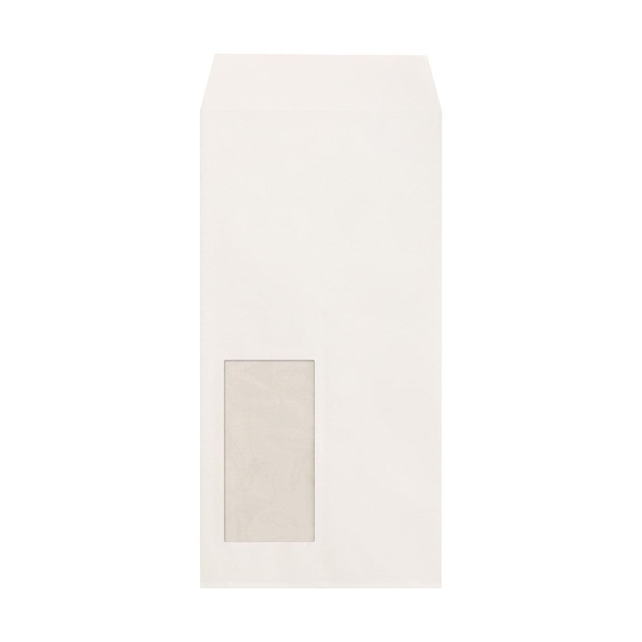 長3窓封筒 ハーフカラー99 ホワイト 81.4g