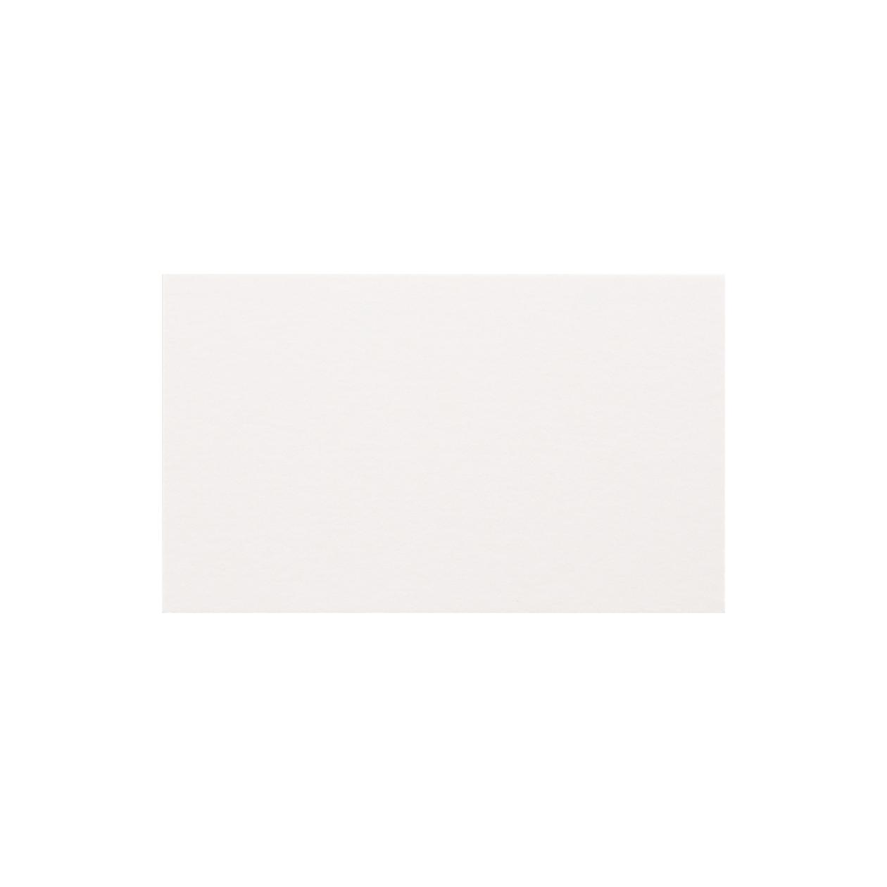 ネームカード HAGURUMA Basic プレインホワイト 200g