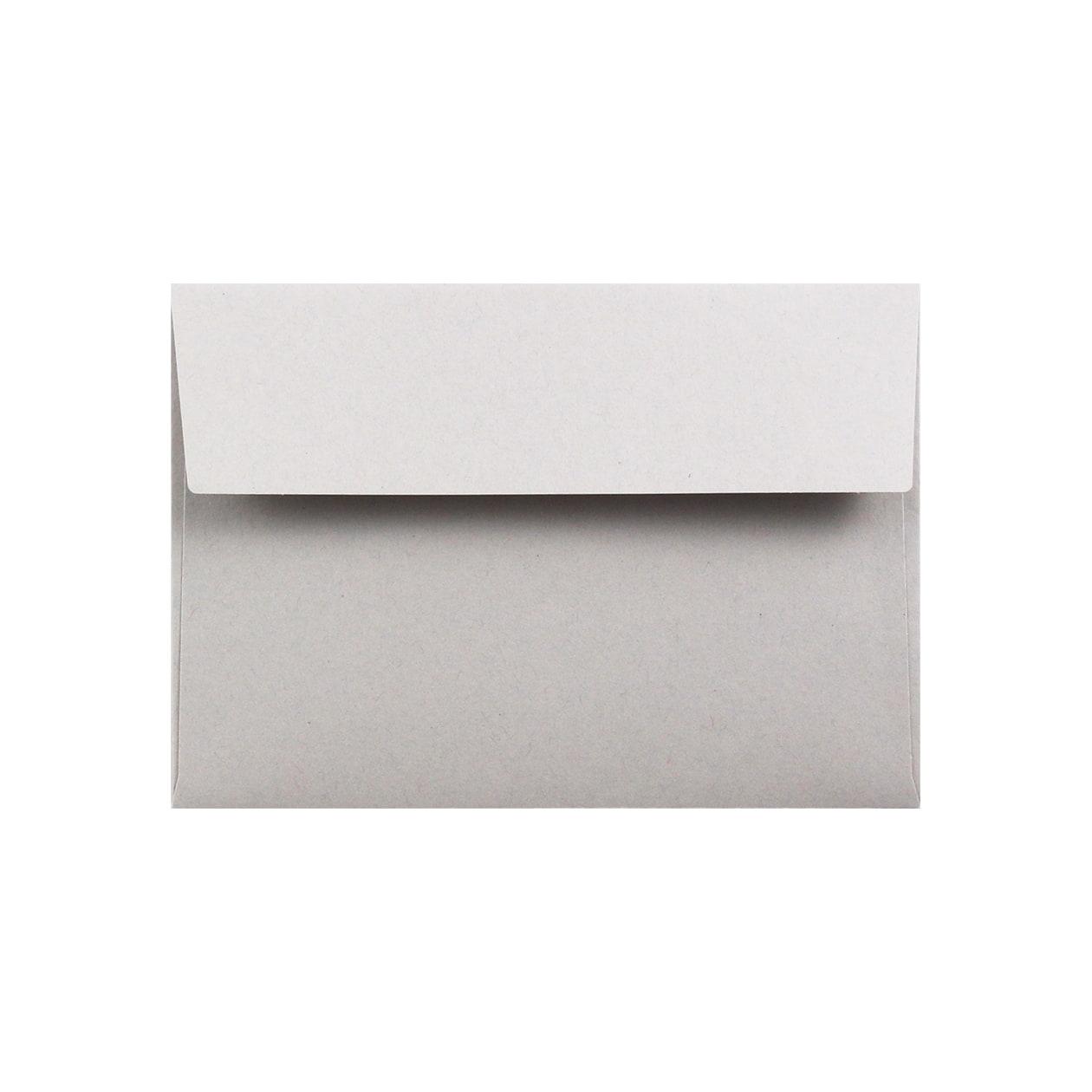 洋2カマス封筒 HAGURUMA Basic ライナーグレイ 100g