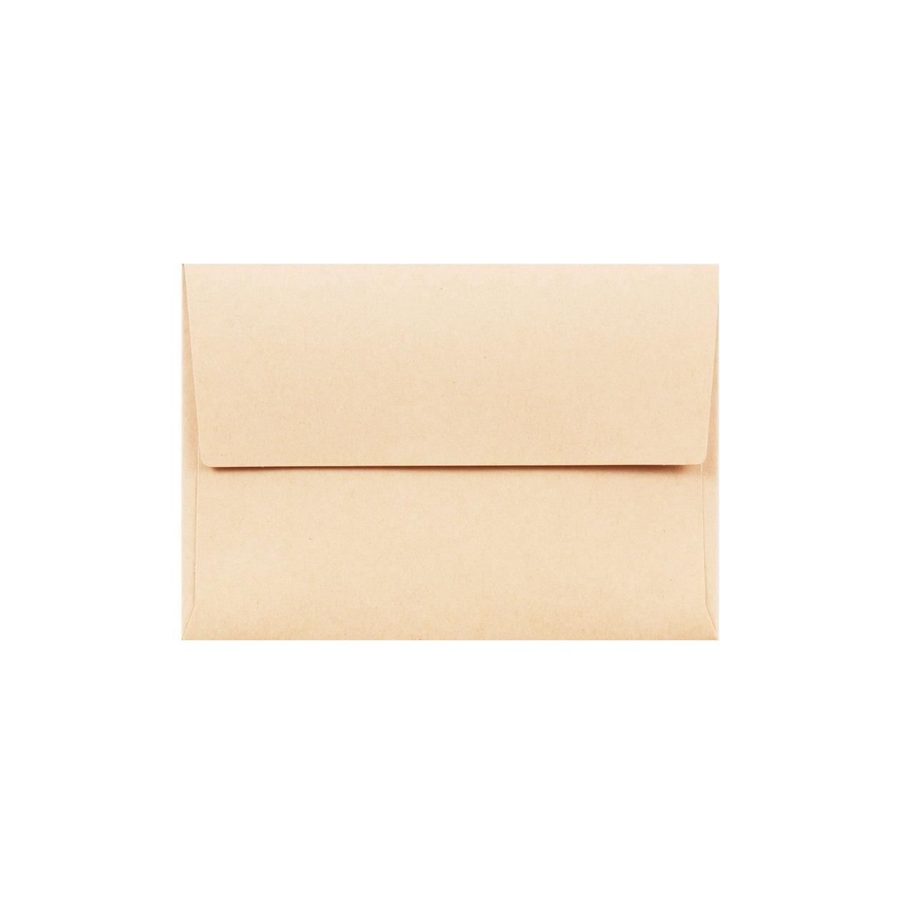 C7カマス封筒 HAGURUMA Basic ウッドブラウン 100g