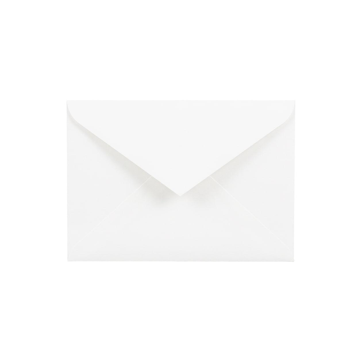 洋2ダイア封筒 HAGURUMA Basic プレインホワイト 100g