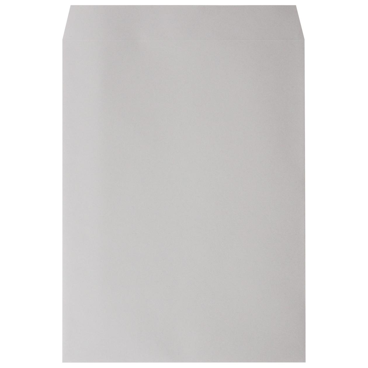 角0封筒 HAGURUMA Basic ライナーグレイ 100g センター貼