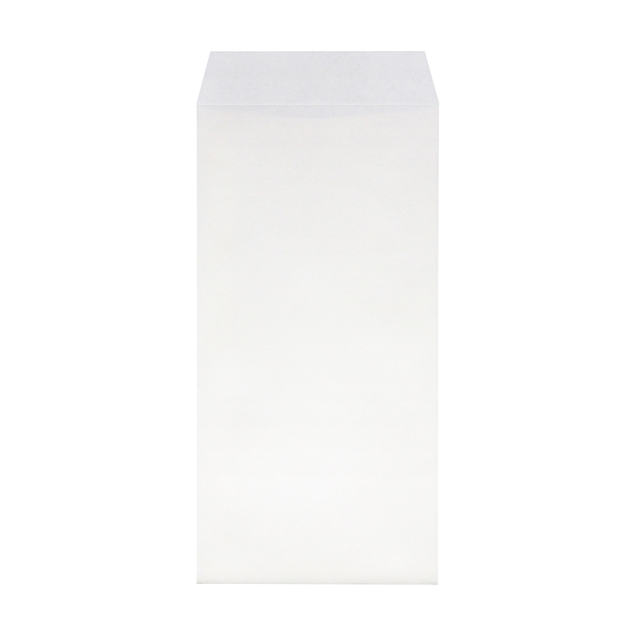 長3封筒 HAGURUMA Basic プレインホワイト 100g