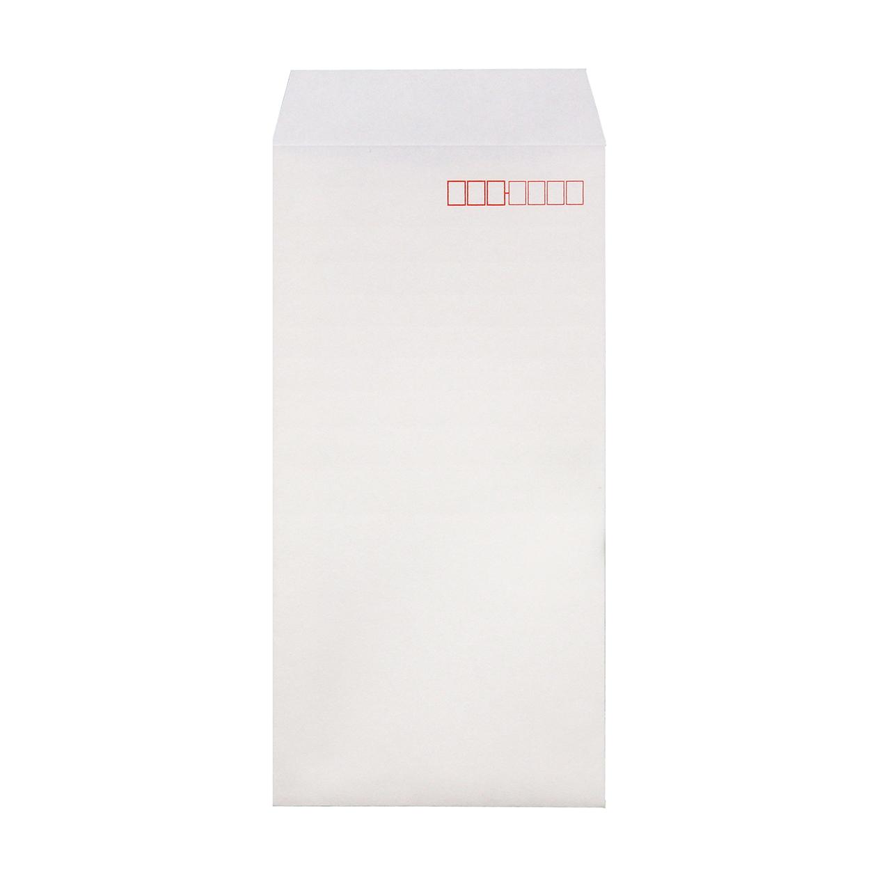 長3封筒 HAGURUMA Basic プレインホワイト 100g 郵便枠有