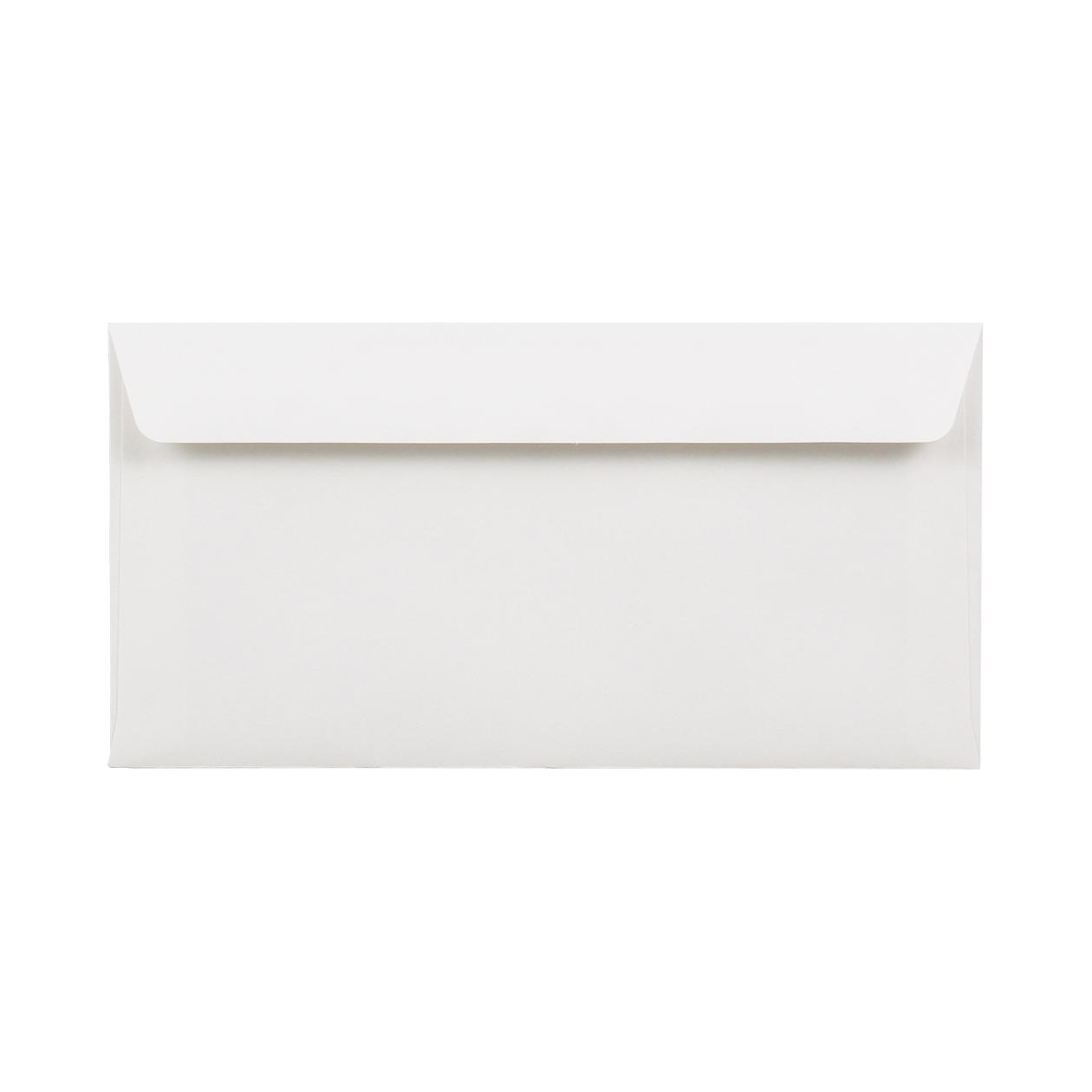 長3カマス34封筒 HAGURUMA Basic プレインホワイト 100g